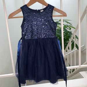 EUC Carter's Sequined Party Dress